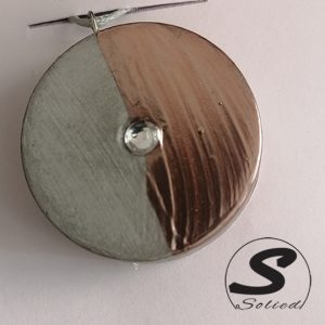 Solied Rose Gold Pendants