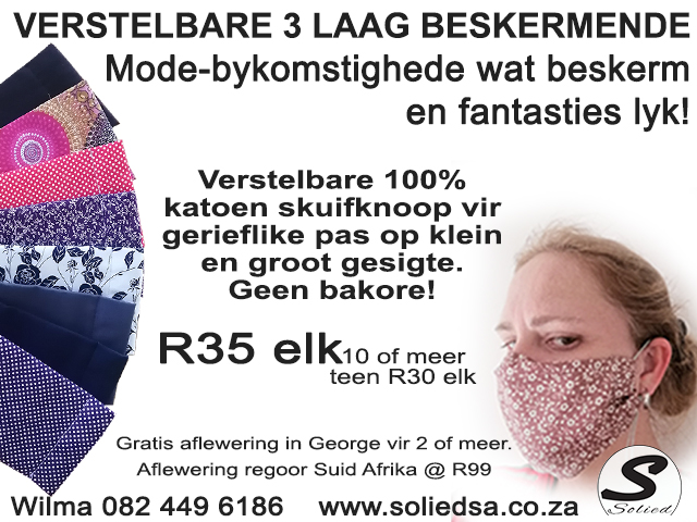 Gesigmaskers of Solied Mode-bykomsighede