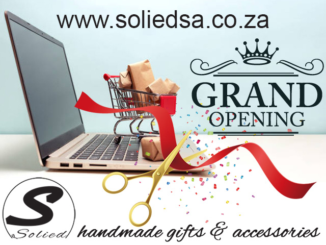 Solied Gifts and Accessories Online Shop Launch