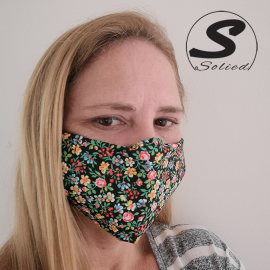 Solied Fabric Face Masks