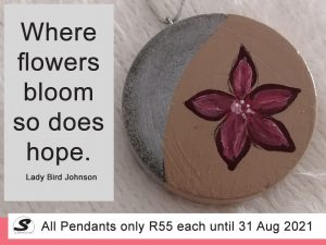 Hand-Painted Pendant Special